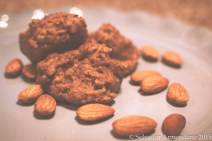 Honey-Nut Almond Cookies 2
