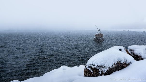 snowy-lake