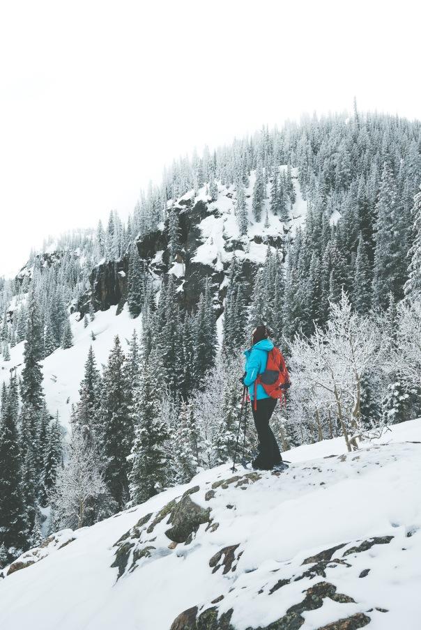 17-04-14 Snowshoeing